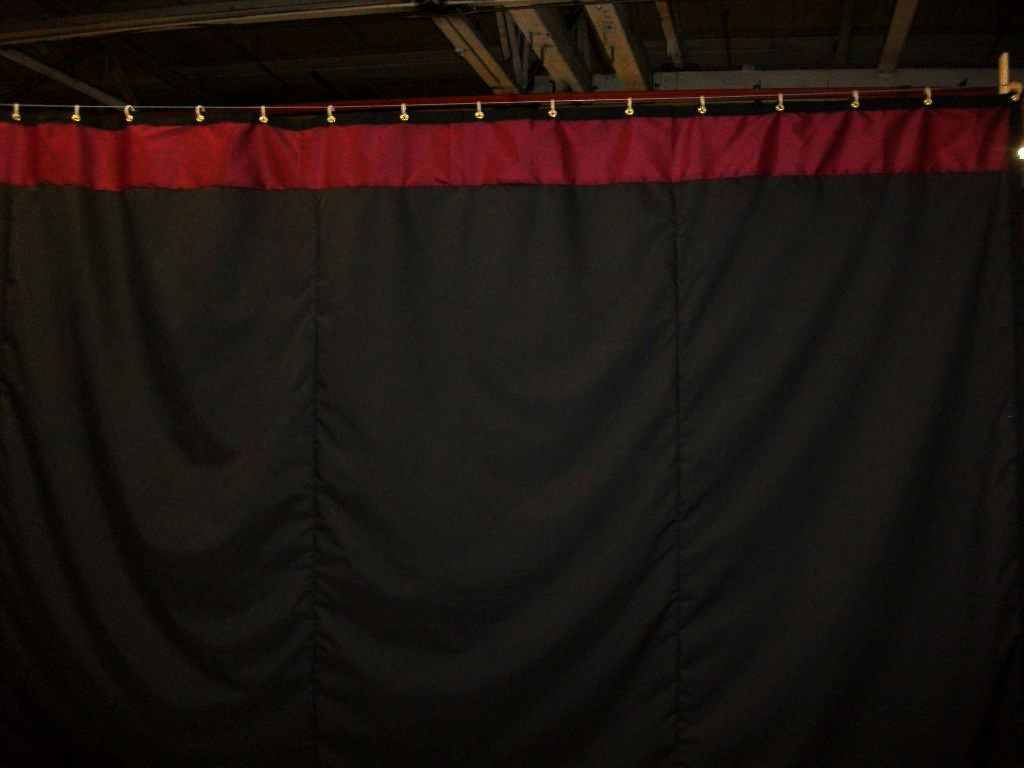 Cheap black stage curtains - Black Stage Curtain Sizes
